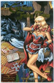 Grimm Fairy Tales #1 Gold Foil Variant Jay Company Ltd 500 comic book